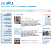 UN/ISDR: International Strategy for Disaster ReductionThumbnail